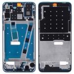 Original Front Housing LCD Frame Bezel Plate with Side Keys for Huawei P30 Lite (Blue)