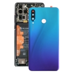 Original Battery Back Cover with Camera Lens for Huawei P30 Lite (48MP)(Twilight Blue)