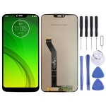 LCD Screen and Digitizer Full Assembly for Motorola MOTO G7 Power (Black)