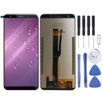 LCD Screen and Digitizer Full Assembly for Blackview BV5500 Pro (Black)