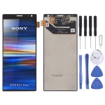 LCD Screen and Digitizer Full Assembly for Sony Xperia 10 Plus (Black)