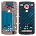 Middle Frame Bezel Plate for Motorola Moto Z Play XT1635 (Gold)