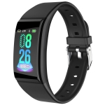 B86 1.14 inch IPS Color Screen Women Smart Watch IP67 Waterproof, Support Call Reminder /Heart Rate Monitoring /Blood Pressure Monitoring/Sleep Monitoring/Predict Menstrual Cycle Intelligently(Black)
