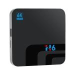 Android 8.1 TV BOX Allwinner H6 2GB DDR3 16GB 2.4GHz WiFi Bluetooth 4.0 Support 6K HD Media Player 2GB 16GB Ott IPTV Box(US plug)