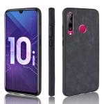 Shockproof Sheep Skin PC + PU + TPU Case for Huawei Honor 10i/Honor 20i(Black)