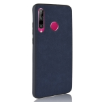 Shockproof Sheep Skin PC + PU + TPU Case for Huawei P Smart Plus 2019/ Enjoy 9s(Blue)