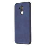 Shockproof  Matching Denim PC + PU + TPU Protective Case for Huawei Mate 20 Lite(Blue)