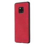 Shockproof  Matching Denim PC + PU + TPU Protective Case for Huawei Mate 20 Pro(Red)