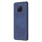 Shockproof  Matching Denim PC + PU + TPU Protective Case for Huawei Mate 20 Pro(Blue)
