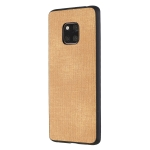 Shockproof  Matching Denim PC + PU + TPU Protective Case for Huawei Mate 20 Pro(Light brown)