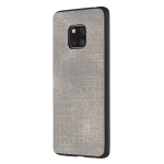 Shockproof  Matching Denim PC + PU + TPU Protective Case for Huawei Mate 20 Pro(Grey)