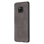 Shockproof  Matching Denim PC + PU + TPU Protective Case for Huawei Mate 20 Pro(Black)