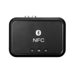 NFC Desktop Bluetooth Music Receiver 4.1 Bluetooth Adapter USB Drive Reads Bluetooth Speaker black