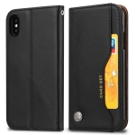 Knead Skin Texture Horizontal Flip Leather Case for Huawei Y5 (2019)/Honor 8S, with Photo Frame & Holder & Card Slots & Wallet(Black)