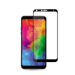 mocolo 0.33mm 9H 2.5D Silk Print Tempered Glass Film for LG Q7