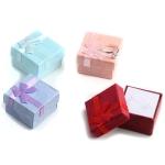 Jewelry Organizer Box Small Gift Box 4x4x3 cm,Color Random delivery