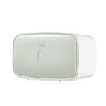 Multi-function Waterproof Bathroom Toilet Roll Paper Holder Phone Holder with Storage Shelf Rack(Green)