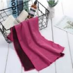 3 PCS Absorbent Polyester Quick-drying Breathable Cold-skinned Fitness Sports Portable Towel, Package:40×80 Aluminum Foil Bag(Magenta)
