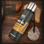 Outdoor Thermos Portable Large Capacity Insulated Cup, Capacity:1000ml(Green)