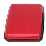 Aluminum Business Card Box Card Box Credit Card Package Anti-theft Anti-radio AL(Red)