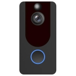 V7 1080P Full HD Weather Resistant WiFi Security Home Monitor Intercom Smart Phone Video Doorbell, Support Two-way Audio, PIR Motion Detection, Night Vision