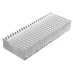 Aluminum Heat Sink Cooling for Chip IC LED Transistor Power Memory, Size: 150x60x25mm