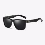 Polarized Sunglasses Men Outdoor Driving Vintage Square Shades Lens Sun Glasses(NO1)