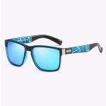 Polarized Sunglasses Men Outdoor Driving Vintage Square Shades Lens Sun Glasses(NO2)