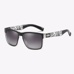 Polarized Sunglasses Men Outdoor Driving Vintage Square Shades Lens Sun Glasses(NO3)