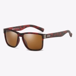 Polarized Sunglasses Men Outdoor Driving Vintage Square Shades Lens Sun Glasses(NO4)