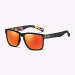 Polarized Sunglasses Men Outdoor Driving Vintage Square Shades Lens Sun Glasses(NO5)
