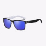 Polarized Sunglasses Men Outdoor Driving Vintage Square Shades Lens Sun Glasses(NO7)