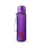 Leak-proof Sports Water Bottle Tour Hiking Portable Bottles, Capacity:400ml(violet)