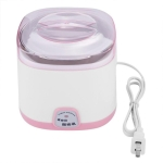 1L Electric Yogurt Maker Machine DIY Stainless Steel Inner Container Kithchen Appliance 220V(Pink)