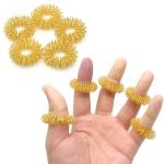20 PCS Finger Massage Ring Body Massager Relax Hand Massage