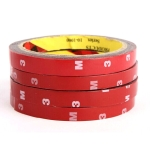 3M High Temperature Acrylic Foam Double Sided Tape Seamless Adhesive Tape Sticker(2.5cm)