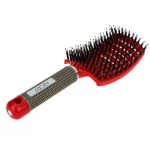 Abody Comb Hairbrush Women Tangle Hairdressing Supplies(Red)