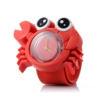 10PCS 3D Cartoon Watch for Children(Crab)