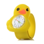 10PCS 3D Cartoon Watch for Children(Small Yellow Duck)