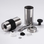 2 PCS Mini Manual Stainless Steel Coffee Grinder