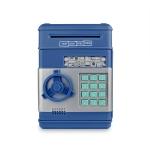 Electronic Piggy Bank ATM Password Money Coins Saving Box(Blue)