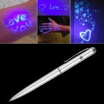 Creative LED UV Light Ballpoint Pen Invisible Ink Pen