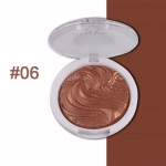 Highlighter Bronzer Brighten Powder for Face(06# Bird pattern)