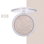 Highlighter Bronzer Brighten Powder for Face(08# Bird pattern)