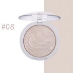 Highlighter Bronzer Brighten Powder for Face(08# Bird pattern)
