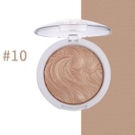 Highlighter Bronzer Brighten Powder for Face(10# Bird pattern)