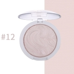 Highlighter Bronzer Brighten Powder for Face(12# Bird pattern)