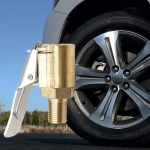 Car Tyre Wheel Tire Air Chuck Inflator Pump Valve Clip Clamp Connector