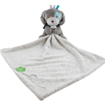 Baby Comforting Baby Multi-function Sleeping Plush Storage Blanket Cartoon Animal Towel(Dog)