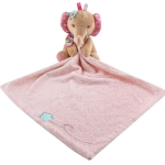 Baby Comforting Baby Multi-function Sleeping Plush Storage Blanket Cartoon Animal Towel(Elephant)